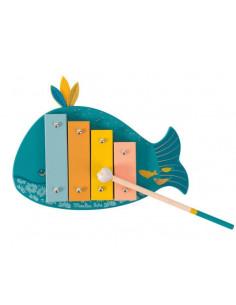Xylophone baleine - Le Voyage d'Olga