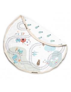 Tapis de jeux Play&Go - Train Map