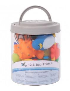 Jouets de bain Friends Bo Jungle - 12 pcs