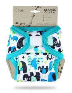 Culotte de protection Velcros TU Petit Lulu - Baby Elephant