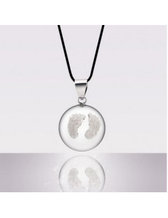 Bola Babyfeet - Diamant Rhodium