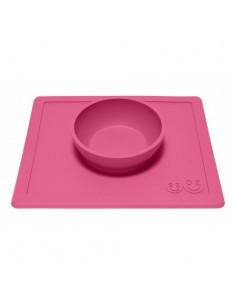 Set de table Happy Bowl - Rose fuchsia