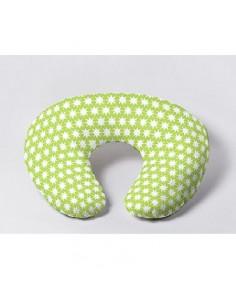 Coussin d'allaitement Mini - Vert Etoile