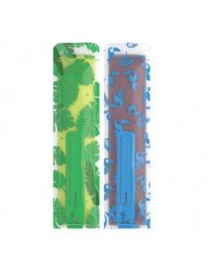 Lot de 20 pochettes à glaçons réutilisables - Vert Bleu
