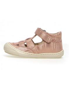 Sandale cuir souple Naturino Wad 24 - Cipria