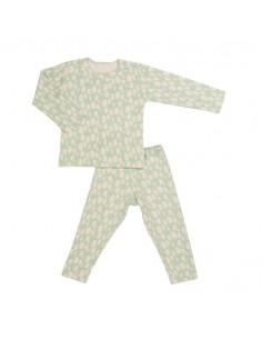 Pyjama long 2 pieces - Ballon Turquoise