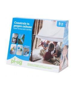 Tent tools kit extra - Construis ta propre cabane