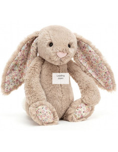 Peluche Bea beige bunny - Small