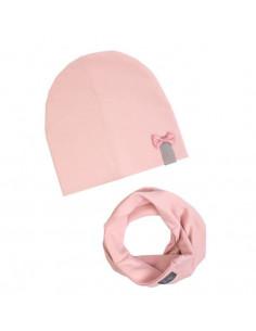 Set Beanie/Tub 1-3ans - Powder pink