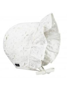 Chapeau de soleil Elodie 6-12mois - Embroidery anglaise