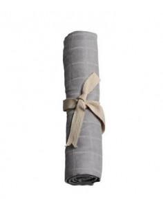 Tetra mousseline coton bio - Grey