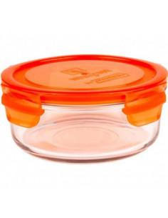 Pot de conservation en verre 660 ml - Orange