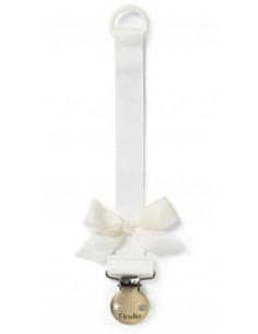 Attache-sucette Elodie - Vanilla white
