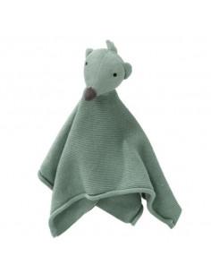 Doudou tricot coton bio - Hedgehog