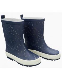 Bottes de pluie T21 - Indigo dots