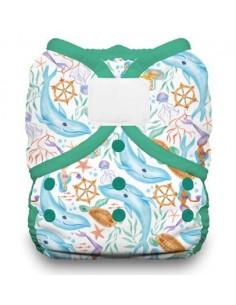 Culotte de protection Duo Wrap Velcros T1 - Mermaid Lagoon