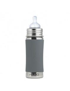 Biberon inox Pura 325 ml - Grey
