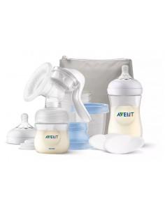 Tire-lait Avent manuel + Kit d'allaitement