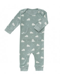 Pyjama coton bio sans pied Nné - Hedgehog