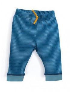 ZATY - Pantalon rayé bleu 3m