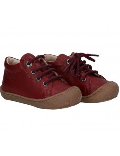 Chaussure cuir souple Naturino Cocoon 21 - Granata