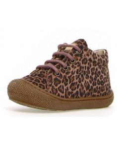 Chaussure cuir souple Naturino Cocoon 22 - Jaguar phard
