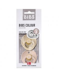 2 Sucettes Bibs 6-18 mois - Vanilla Blush