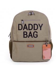 Sac à dos à langer en toile - Daddy Bag Kaki