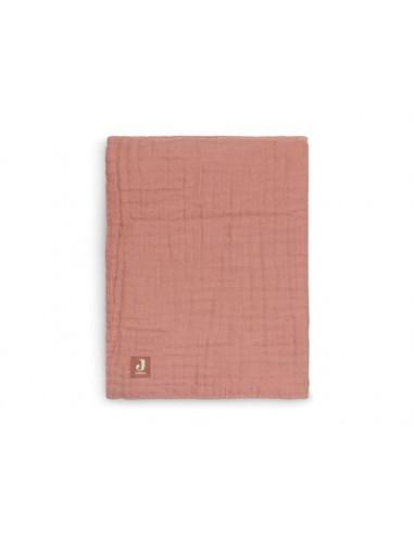 Couverture pour berceau 100% coton organique - Rosewood