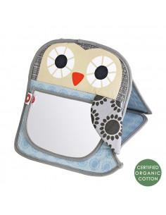 Miroir bébé bio - Grey Owl